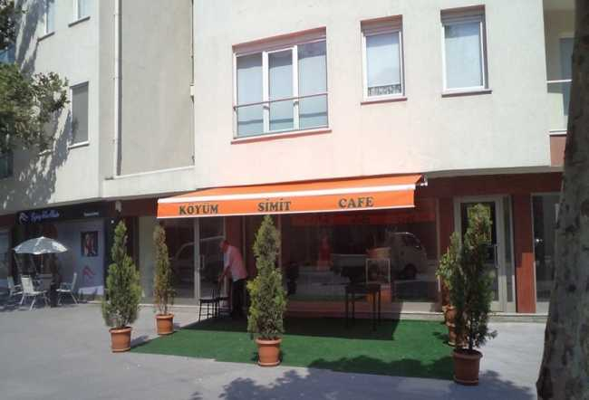Simit Cafe Mafsallı Tente